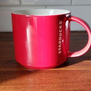 2012 red starbucks coffee mug